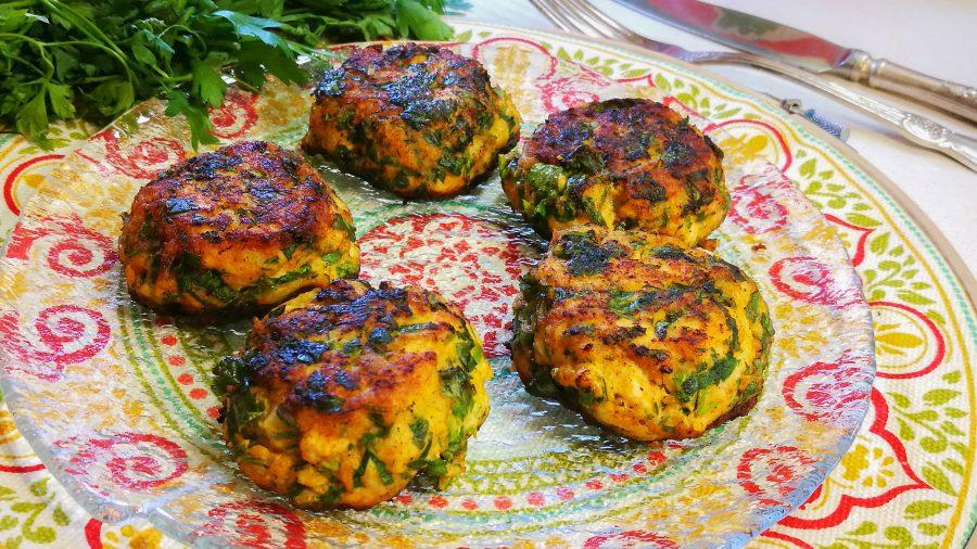Shoshi's Kfitot- Tunisian Chicken balls
